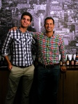 Jean-Hubert and Sam Calagione