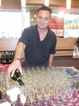 Total Wine Kendall Grand Opening Champagne Pour (480x640)
