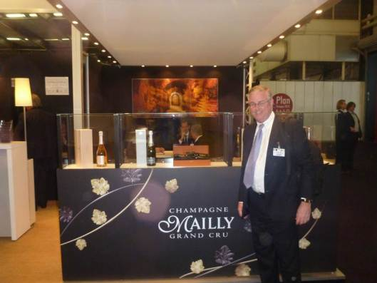 David Trone with his favorite Champagne at VinExpo 2013, Bordeaux, France