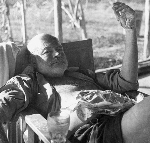 Ernest Hemingway Partying