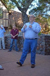 Adler Fels winemaker, Harry Parducci, Jr.