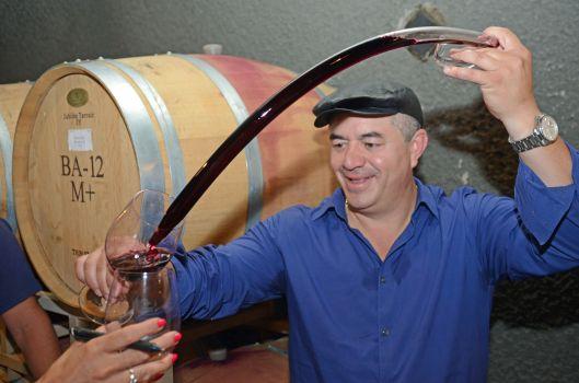 Baldacci winemaker, Rolando Herrera