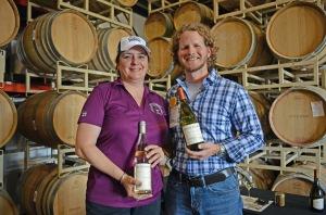 Winemaker Joe Freeman