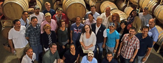 Anaba Winery group photo of Total Wine & More team