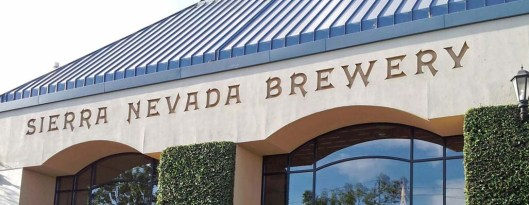 Sierra Nevada Brewery Entrance