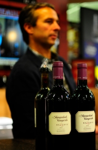 Winemaker Paul Sobon pouring his wines at our Folsom, California grand opening
