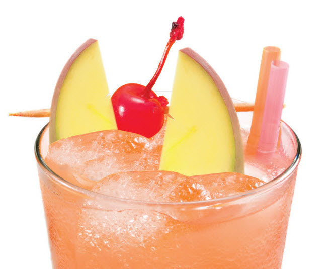 tropical splash cocktail